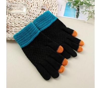 Перчатки для сенсорных экранов Touch Gloves черные