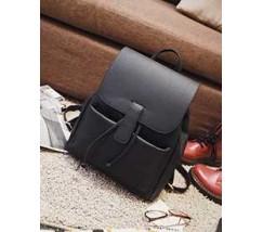 Великий рюкзак жіночий чорний