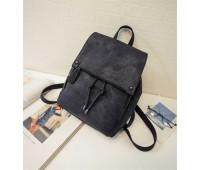 Великий жіночий рюкзак чорний