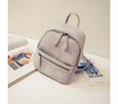Рюкзак маленький серый