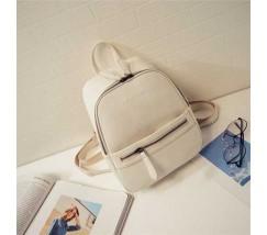 Рюкзак маленький білий