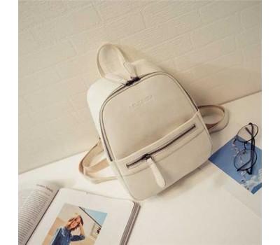 Рюкзак маленький белый