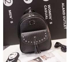 Женский вместительный рюкзак черный