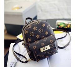Маленький рюкзачок сумка в стилі LV