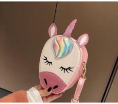 Сумочка Единорог розовая