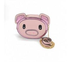 Сумочка Свинка розовая