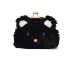 Чорна сумка Ведмедик