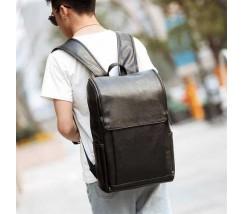 Большой мужской рюкзак черный