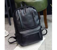 Мужской вместительный рюкзак черный