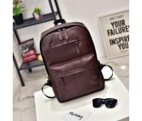 Стильный мужской рюкзак коричневый