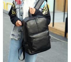 Городской мужской рюкзак черный