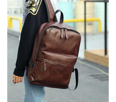 Чоловічий рюкзак коричневий
