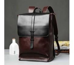 Чоловічий стильний рюкзак коричневий