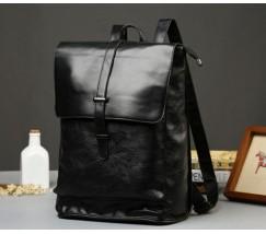 Мужской стильный рюкзак черный