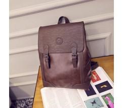 Мужской ретро рюкзак коричневый