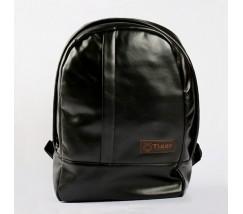 Чоловічий рюкзак екошкіра чорний