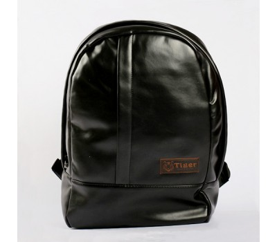 Мужской рюкзак экокожа черный