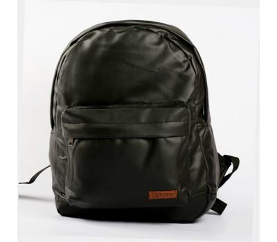 Рюкзак мужской из кожзама черный