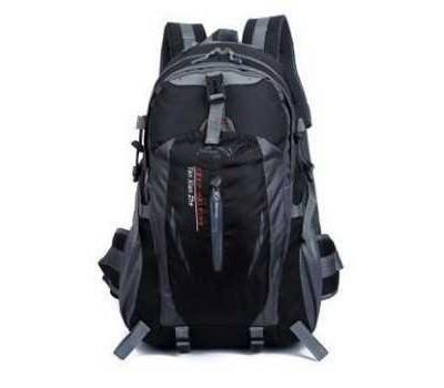 Рюкзак мужской спортивный черный
