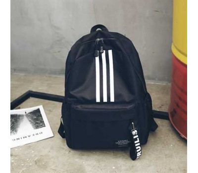 Рюкзак в стилі adidas чорний