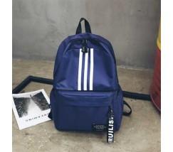 Рюкзак в стилі adidas синій