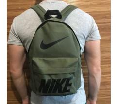 Спортивный рюкзак портфель Nike хаки
