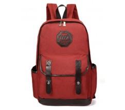 Рюкзак чоловічий з тканини червоний