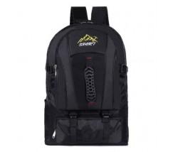 Великий спортивний рюкзак чорний