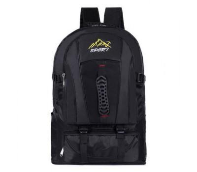 Большой спортивный рюкзак черный