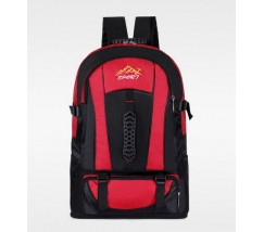 Большой спортивный рюкзак красный