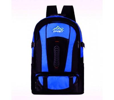 Большой спортивный рюкзак голубой