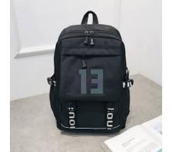 Великий чорний рюкзак 13