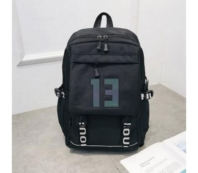 Большой черный рюкзак 13