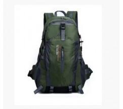Спортивный рюкзак унисекс темно зеленый