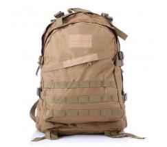 Армейский походный рюкзак коричневый