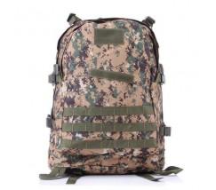 Армійський похідний рюкзак коричнево-зелений