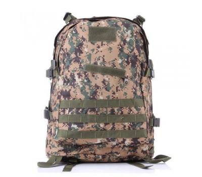 Армейский походный рюкзак коричнево-зеленый