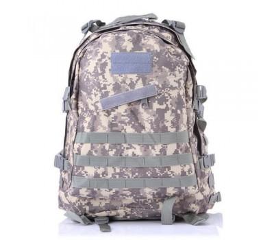 Армейский походный рюкзак серый