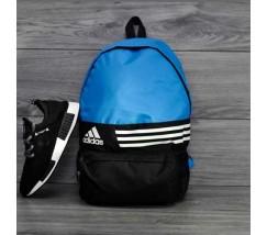 Спортивный рюкзак портфель Adidas синий