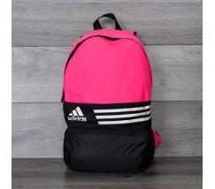 Спортивний рюкзак портфель Adidas рожевий