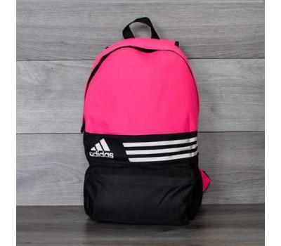 Спортивный рюкзак портфель Adidas розовый