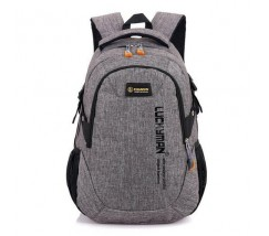 Великий спортивний рюкзак сірий