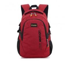 Великий спортивний рюкзак червоний