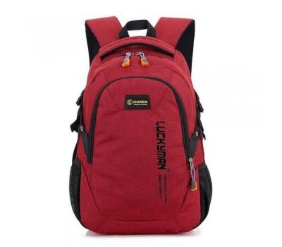 Рюкзак городской Luckyman красный