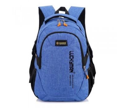 Рюкзак городской Luckyman синий