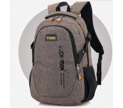 Рюкзак городской Luckyman коричневый