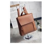 Рюкзак жіночий коричневий