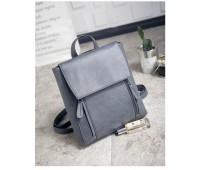 Рюкзак жіночий сірий