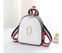 Маленький модний рюкзак білий