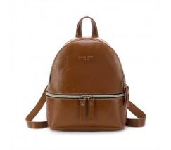 Маленький женский коричневый рюкзак